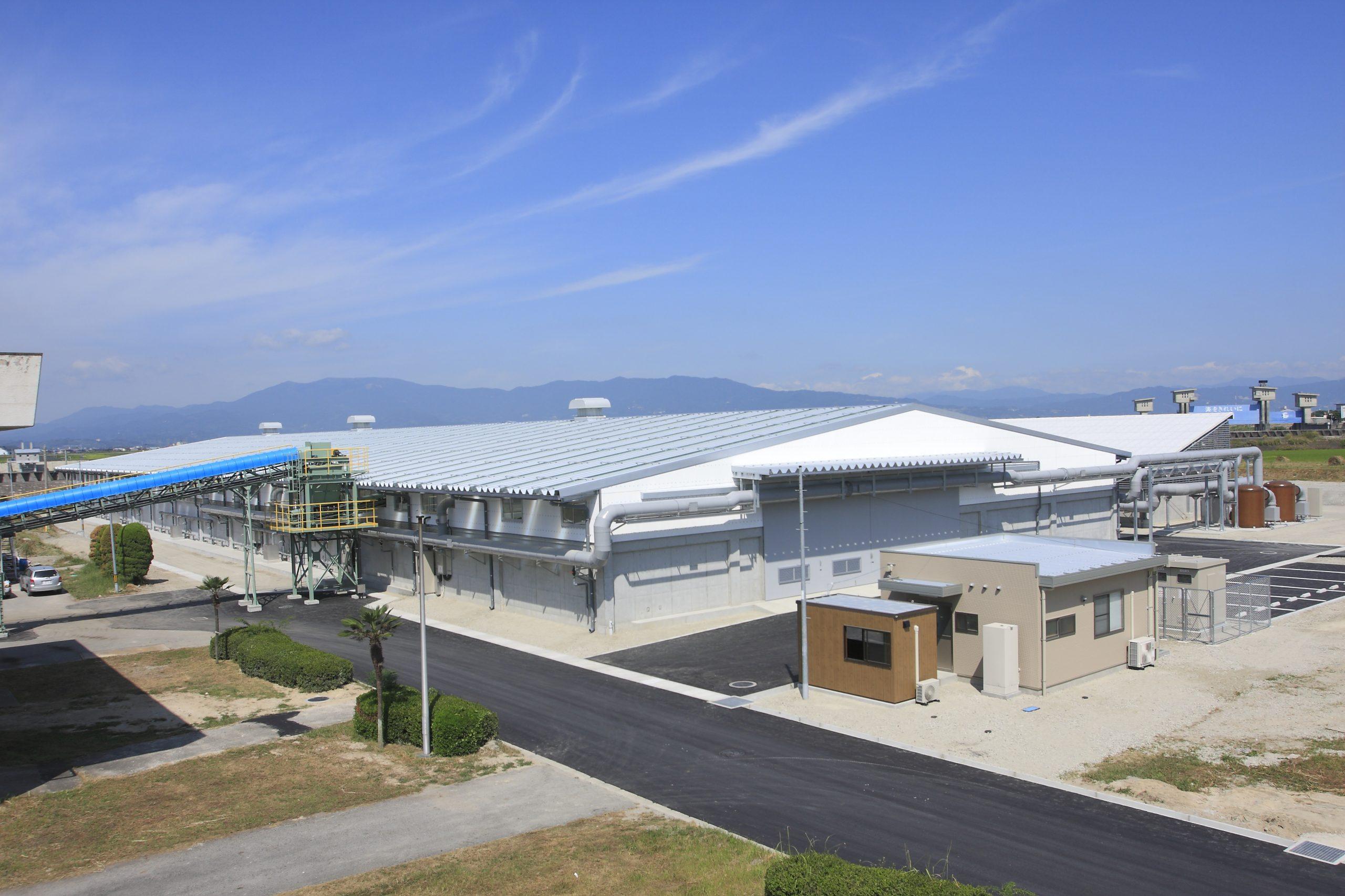 佐賀市下水処理汚泥堆肥化施設