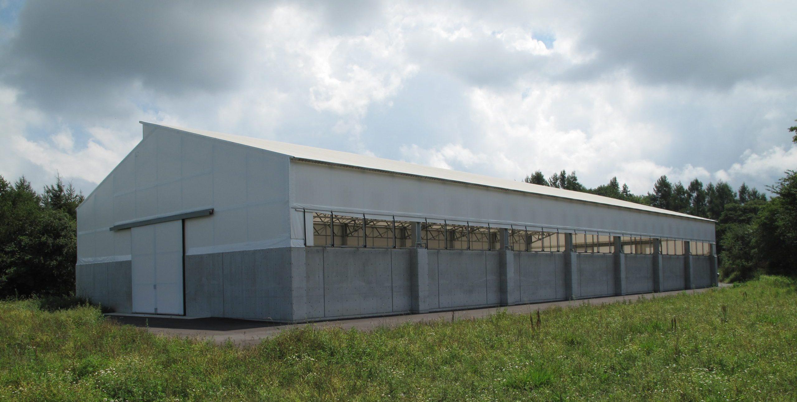 長和町生ごみ堆肥化処理施設